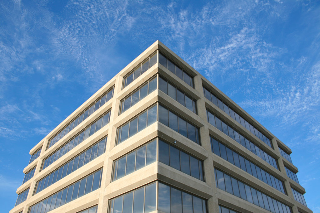Exterior of office building - Free Stock Photo